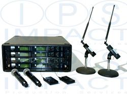 Shure 8 Way Radio Mic Rack