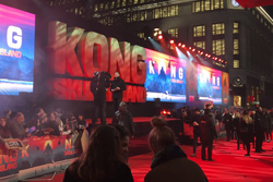 Kong Premiere Wide shot