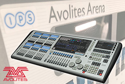 Avolites Arena added to hire stock