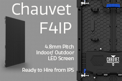 Chauvet F4IP LED Screen