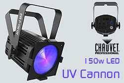 Chauvet LED UV Cannon