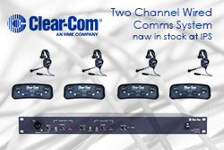 Clear Com Wired Comms