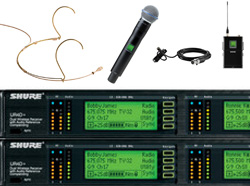 More-Shure-Radio-Mic-Systems