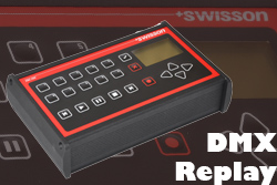 Swisson DMX Replay Unix XRC 200