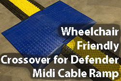 Wheelchair Friendly Cable Ramp Kit