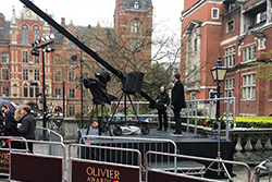 IPS Outdoor Stage Platforms Camera Jib